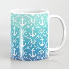 Nautical Knots Ombre Coffee Mug