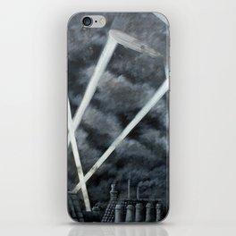 The Zeppelin Menace iPhone Skin