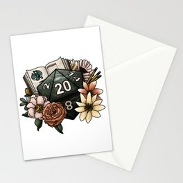 Dungeon Master D20 Tabletop RPG Gaming Dice Stationery Cards