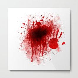 Bloody Day Metal Print