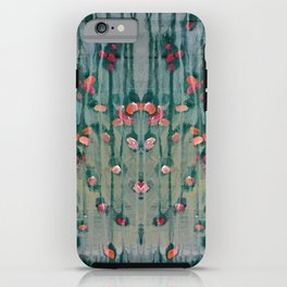 Cottage Roses iPhone Case