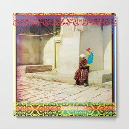 Samarkand Boy Metal Print