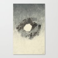 buddhism Canvas Prints featuring Floating by Heather Goodwind