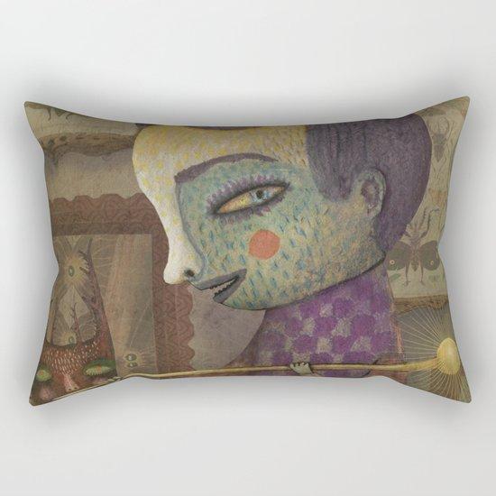 The Entomologist Rectangular Pillow