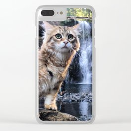 Bobby Joe <3 Waterfalls Clear iPhone Case