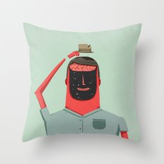 See You (in Another Reality) Throw Pillow