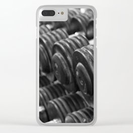 One Rep at a Time Clear iPhone Case