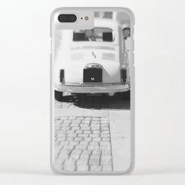 fiat 500 car - hers Clear iPhone Case