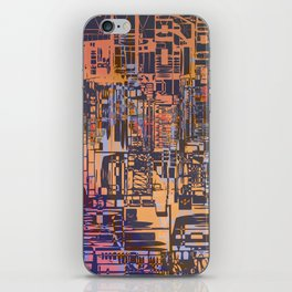 Where Are YOU -3 / Urban Density iPhone Skin