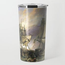 The Battle of Trafalgar Travel Mug