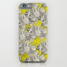 fish mirage chartreuse iPhone Case