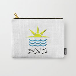 Sun, Sea and Music Carry-All Pouch