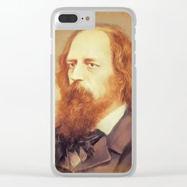 Alfred Lord Tennyson, Literary Legend Clear iPhone Case