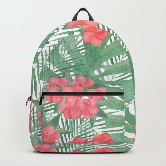 Tropical pattern.4 Backpack