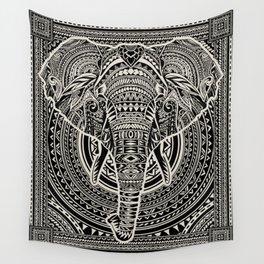 Polynesian Elephant Wall Tapestry