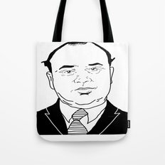 Al 'Scarface' Capone Tote Bag