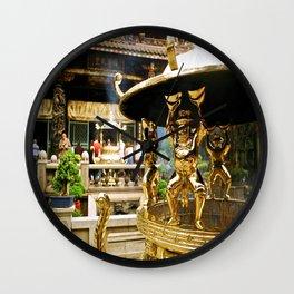 Mengjia Longshan-Temple (3) Wall Clock