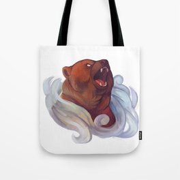 Mystic Grizzly Tote Bag