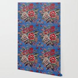 Afshar Kerman  Antique Persian Rug Wallpaper