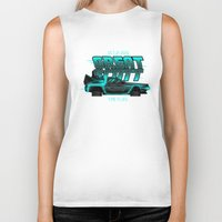 mcfly Biker Tanks featuring Great Scott (Still McFly™) by Lain Lee 3
