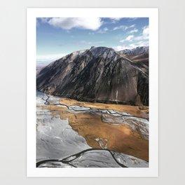 New Zealand's beauty *Aoraki/MtCook 7 Art Print