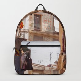 On the sunny side of the street Backpack