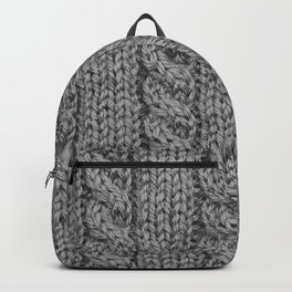 Knitting_031_by_JAMFoto Backpack