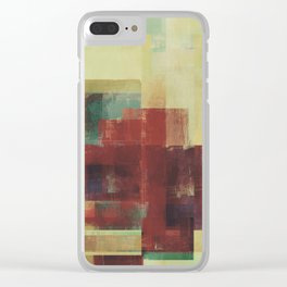 Abstract Geometry No. 21 Clear iPhone Case
