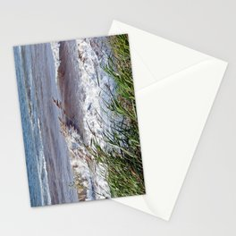 Waves Rolling up the Beach Stationery Cards