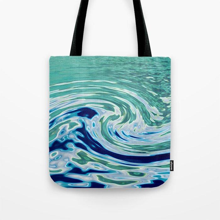 OCEAN ABSTRACT 2 Tote Bag