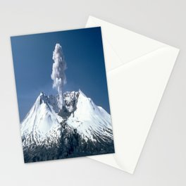 Mount St. Helens 🌋 Volcano  Stationery Cards