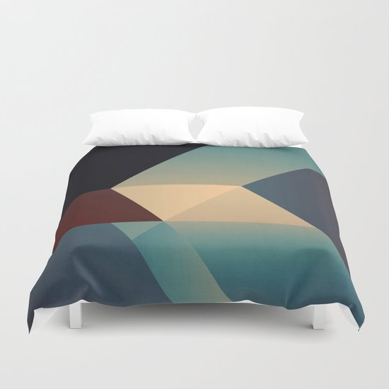 Abstract #85 Duvet Cover
