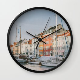 The Harbour Wall Clock
