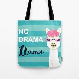 Llama , No Drama Tote Bag