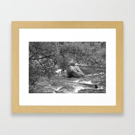 Rocky Mountain Stream - M Framed Art Print