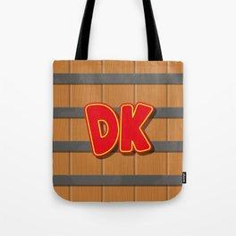 Donkey Kong Barrel Tote Bag