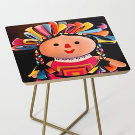 MEXICAN MARIA DOLL*** Side Table