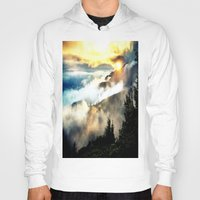 mountains Hoodies featuring Sunrise mountains by 2sweet4words Designs