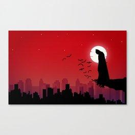 super-hero Canvas Print
