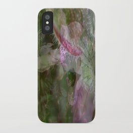 Flower Collage 2 iPhone Case