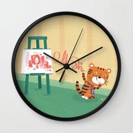 Oops!! Wall Clock
