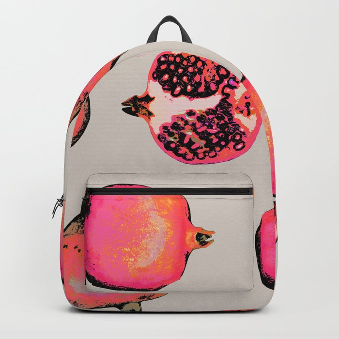 Pomegranate Pattern Backpack