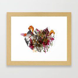 It's what's on the inside that really counts… Framed Art Print
