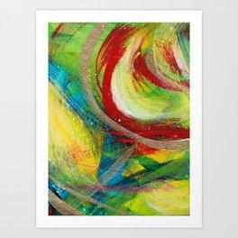 Monster Swirl Art Print