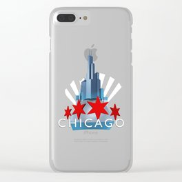 The Windy City Clear iPhone Case