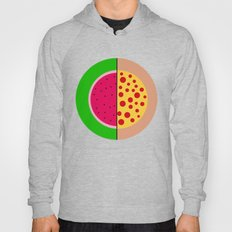 Watermelon Pizza Hoody