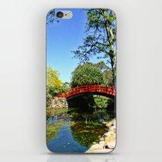 Red Bridge iPhone Skin