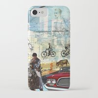 technology iPhone & iPod Cases featuring  Transportation  technology by Design4u Studio
