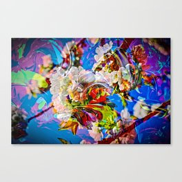 Abstract Perfection 14  Spring Canvas Print