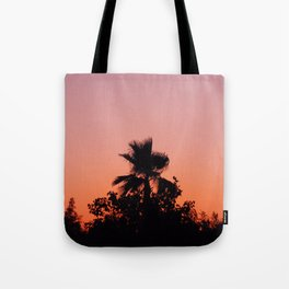 Palm Trees on Purple Tote Bag